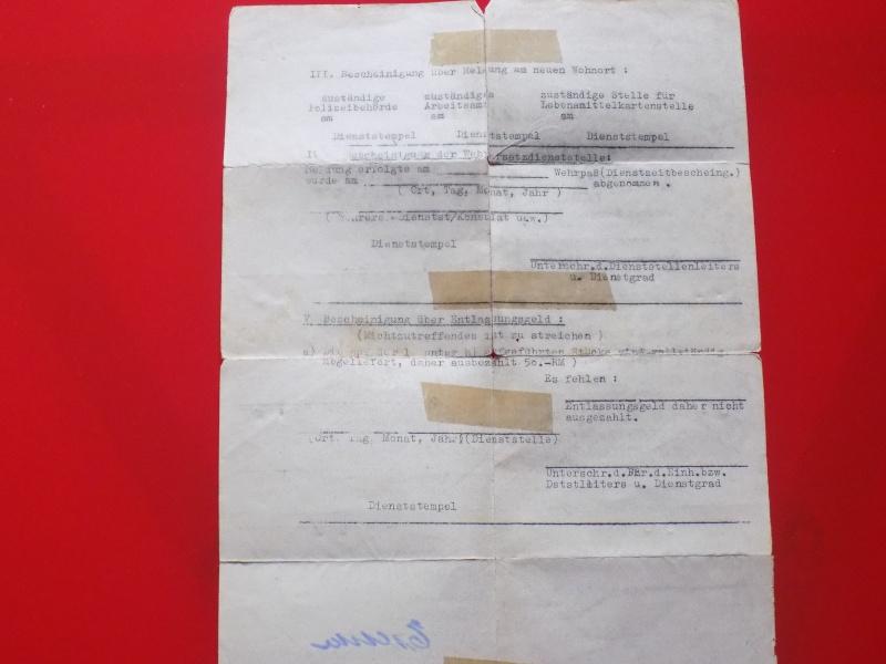 Vos livrets militaires allemands WWII (Soldbuch, Wehrpass..) / Heer-LW-KM-SS... - Page 2 Soldbu42