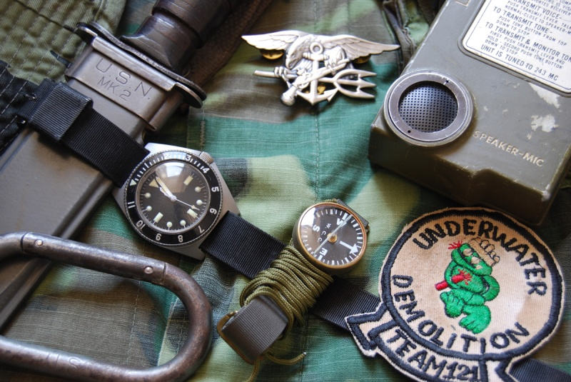 "Suite de ""operation in the Delta"" : Seals and Rolex Benrus11"