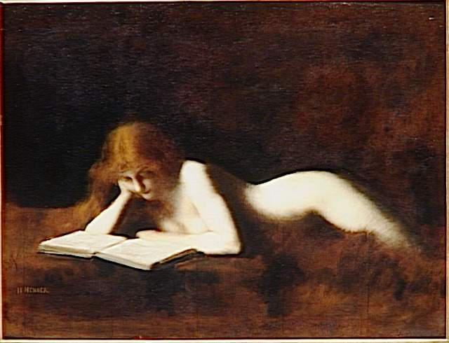 NUS EROTIQUES DE JEAN-JACQUES HENNER (1829-1905) La_lis10