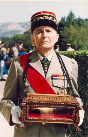 décés du général albéric vaillant Le197510