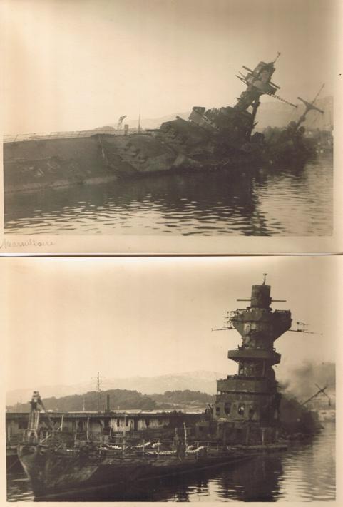 [Histoire et histoires] Toulon : Sabordage de la Flotte (photos) Marsei10