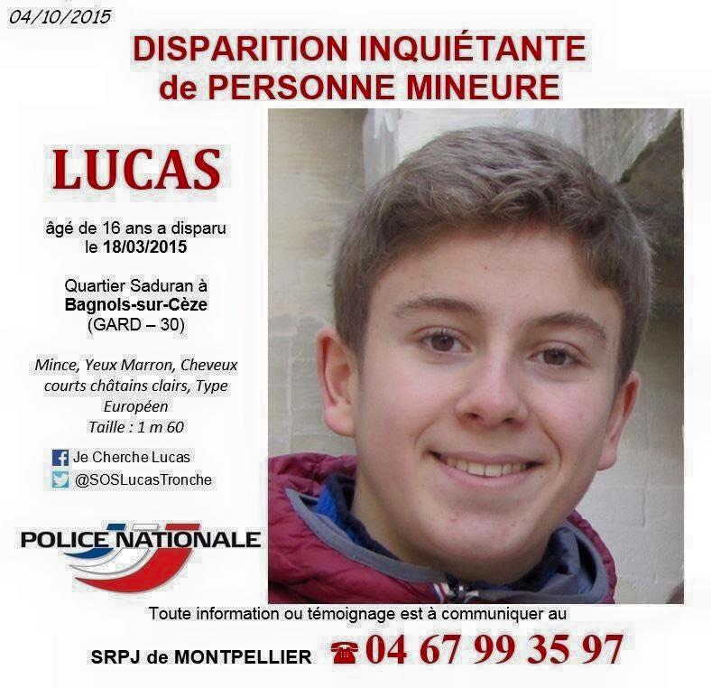 Gard : disparition inquiétante d'un adolescent de 16 ans à Bagnols-sur-Cèze - Page 2 Cherch10