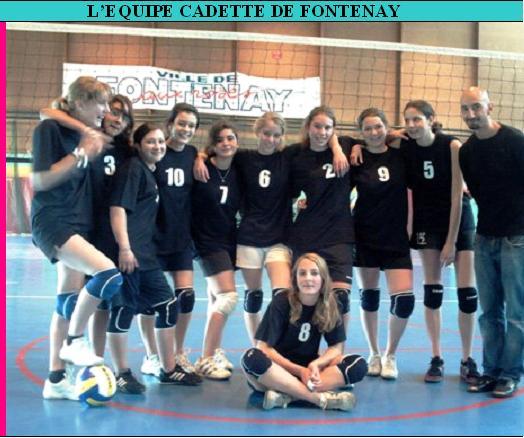 LES PHOTOS D'EQUIPES DU CLUB D'HIER ET D'AUJOURD'HUI Cadett10