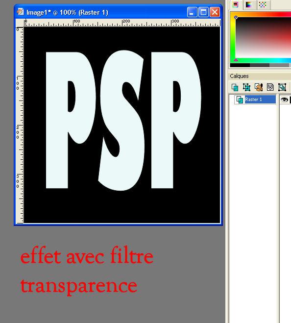 modèles d'effet des filtres Ef_tra10
