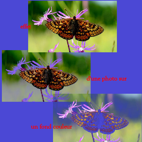 modèles d'effet des filtres Ef_tra14