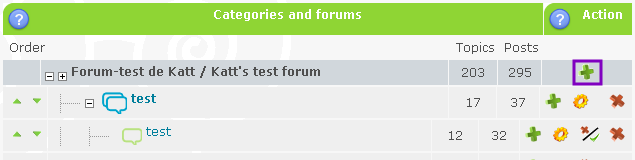 Setting Up Categories and Forums Newcat12
