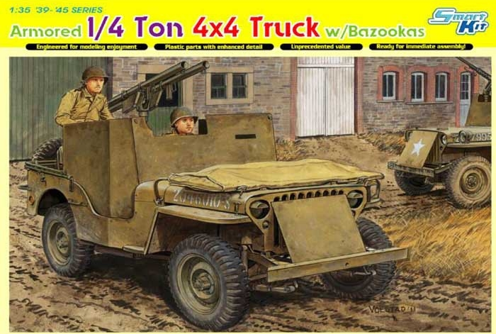 1/35 Dragon Jeep blindée Ardennes Dragon12