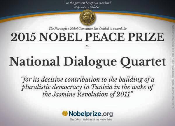Nobel de la paix au Dialogue national tunisien Nobel10