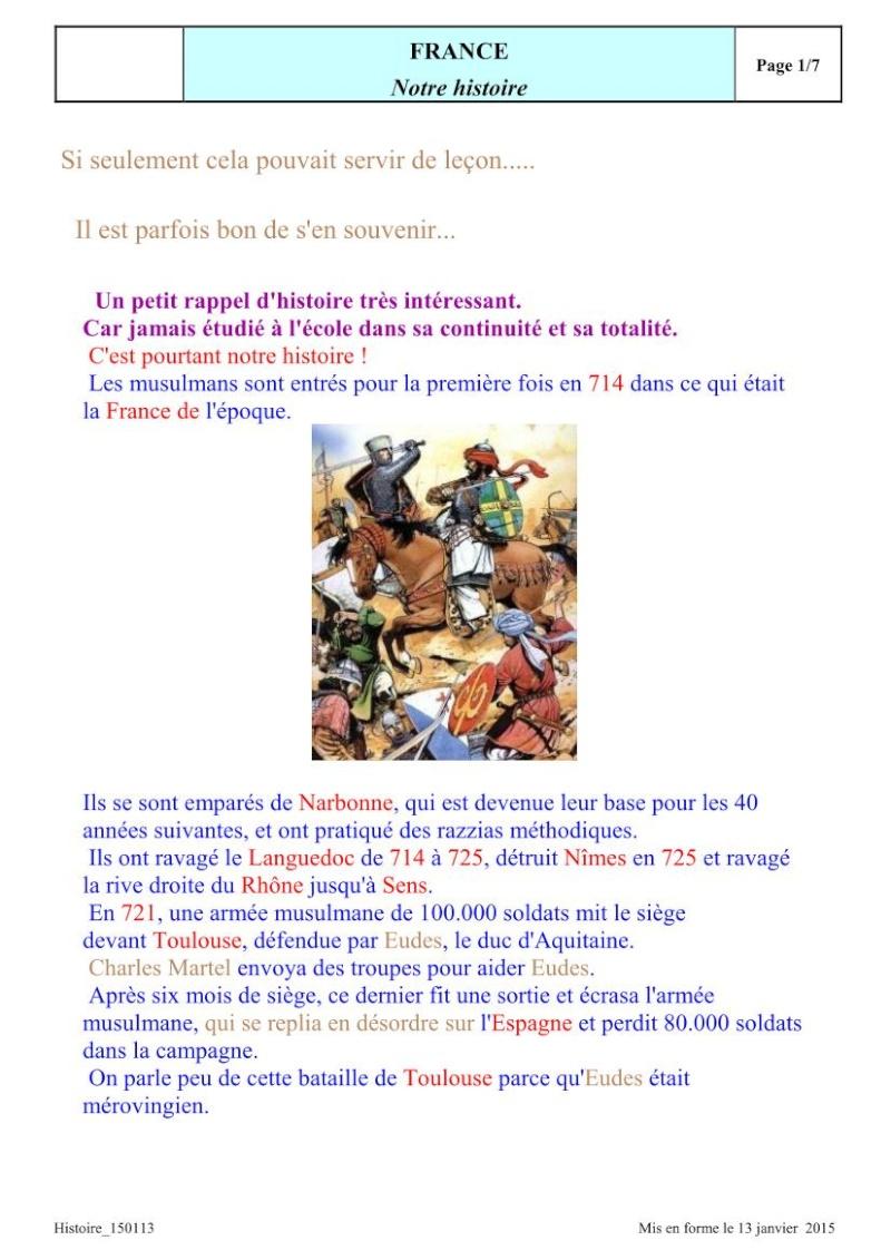 UN RAPPEL: Les invasions ARABO-MUSULMANES Invasi12