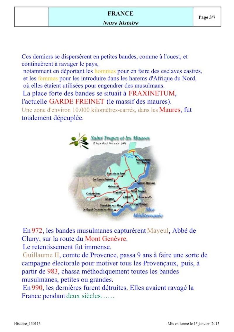 UN RAPPEL: Les invasions ARABO-MUSULMANES Invasi14