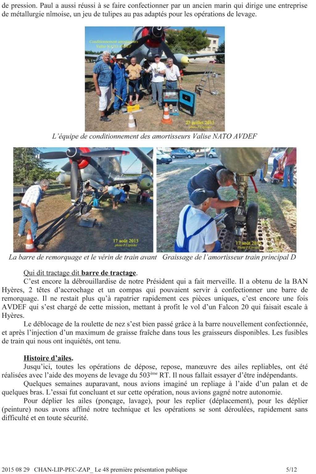 [Associations anciens marins] C.H.A.N.-Nîmes (Conservatoire Historique de l'Aéronavale-Nîmes) - Page 3 2015_014