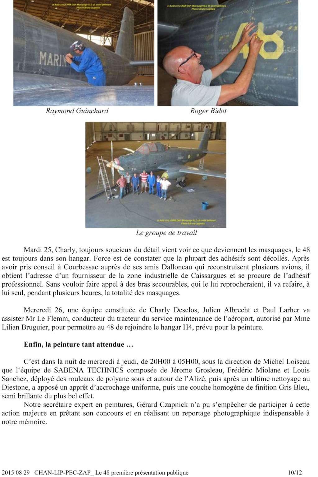 [Associations anciens marins] C.H.A.N.-Nîmes (Conservatoire Historique de l'Aéronavale-Nîmes) - Page 3 2015_019