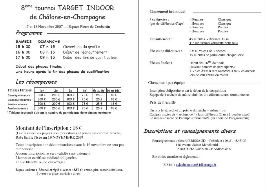 Target de Châlons T210