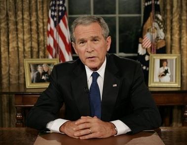 Al Qaida serait à même d'obtenir des ADM Bush10