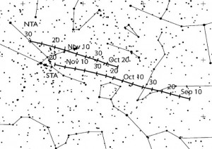 Annonces évènements astronomiques - Page 3 Taurid10