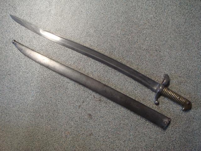 """Carabine de chasseur modèle 1853 M 1867 """"à tabatière"""" Bayo_110"""