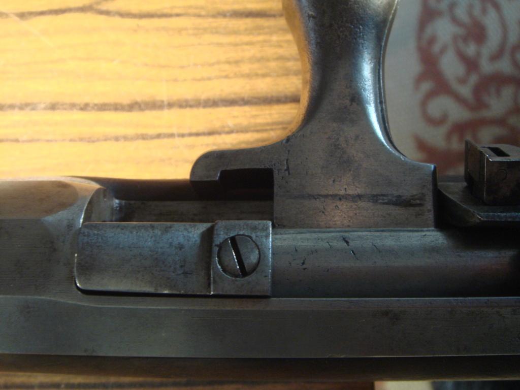 """Fusil Chassepot modifié """"Beaumont"""" (?) Dsc03710"""