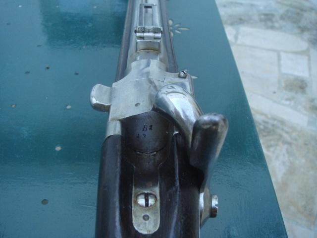 """Carabine de chasseur modèle 1853 M 1867 """"à tabatière"""" Dsc09630"""