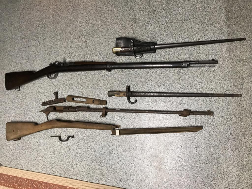 Un M14 (français !)à restaurer : avant et après (?) M14-210