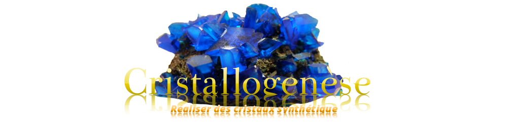 cristallogenèse cristallographie