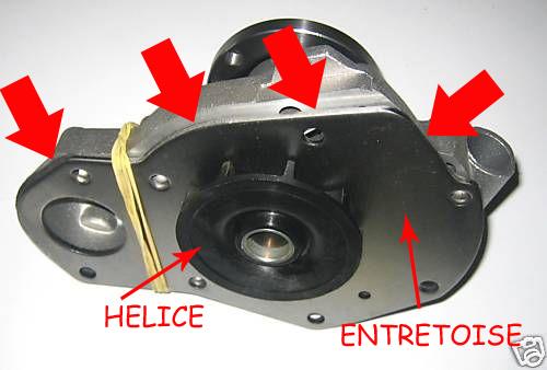 Changement de la pompe à eau sur les moteurs J8S Gqdot-11