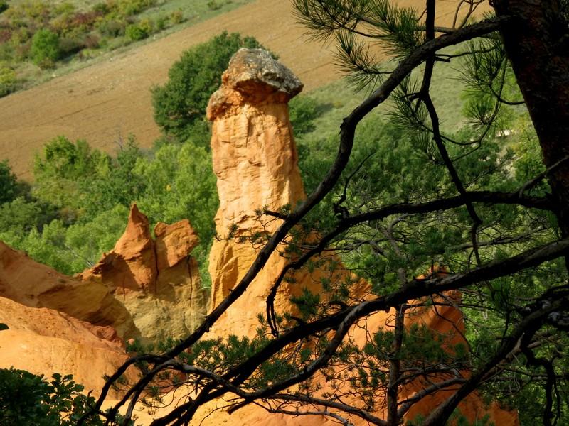 les ocres de rustrel , le colorado provençal Img_6717