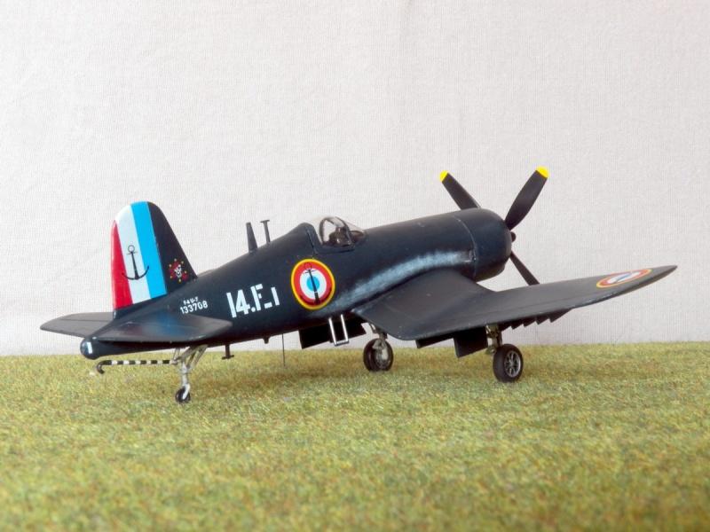 Vought F4U-7 Corsair, 1/72, HPM F4u-7_14