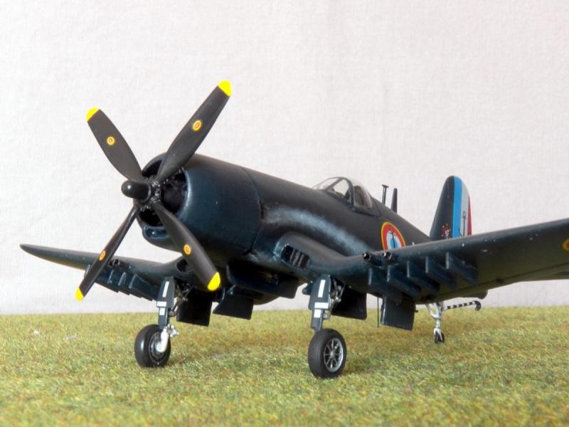 Vought F4U-7 Corsair, 1/72, HPM F4u-7_15