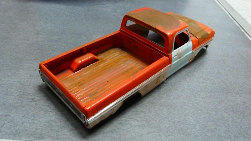 Ford Ranger XLT 1971 1/25 - Rusty farm truck. P1230912