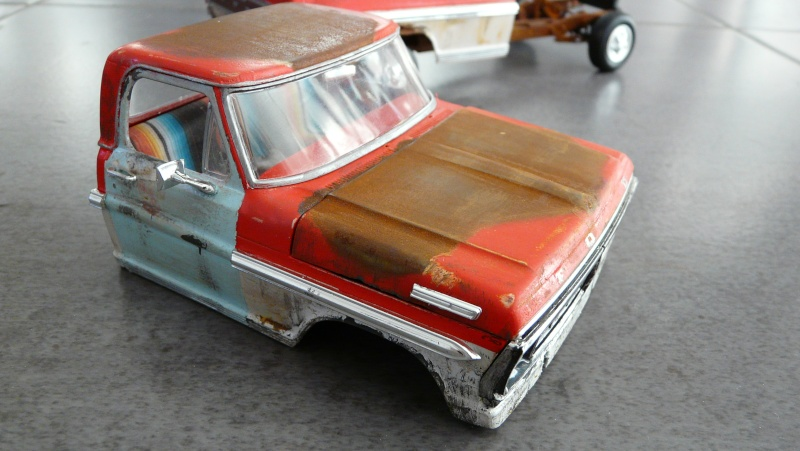 Ford Ranger XLT 1971 1/25 - Rusty farm truck. - Page 2 P1230913