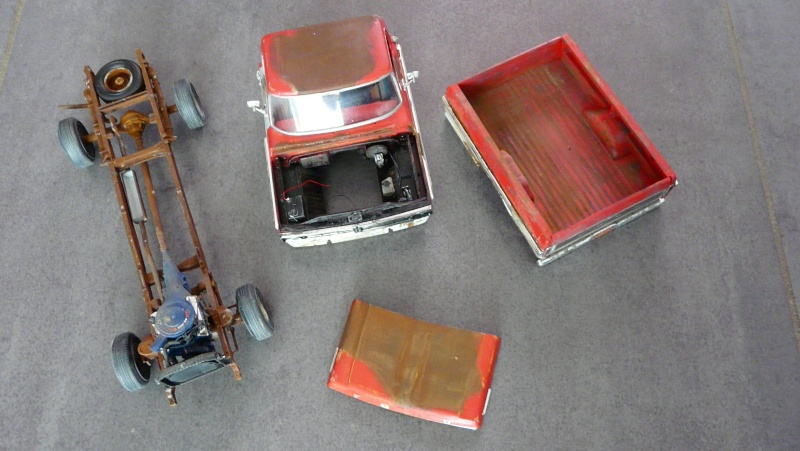 Ford Ranger XLT 1971 1/25 - Rusty farm truck. - Page 2 P1230916