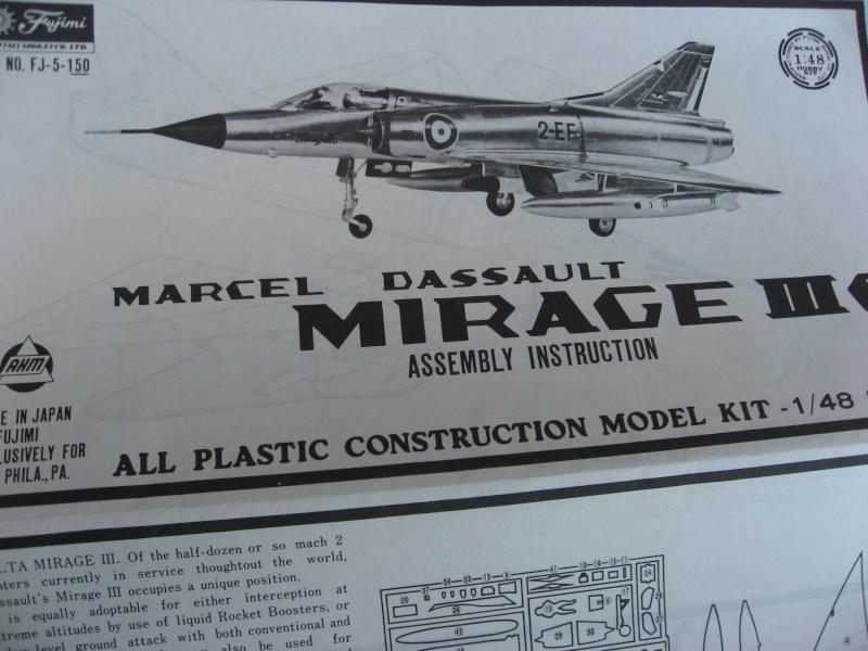 [Fujimi] Mirage III C Img_3722