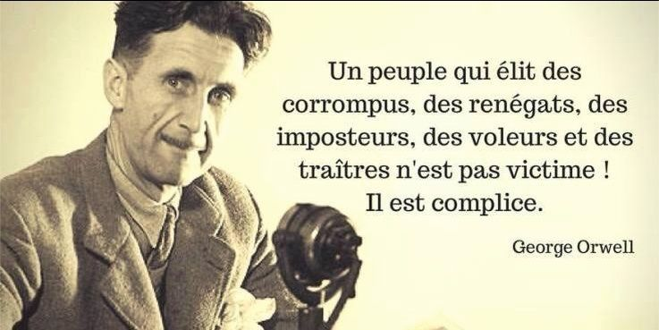george - N'Oubliez pas ce que nous disait George Orwell : Orwell10