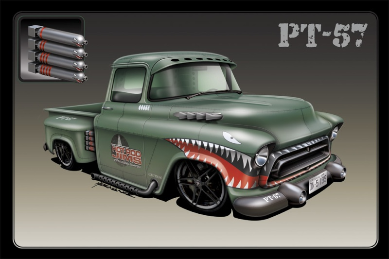 #35 : chevy pick up PT 57 [TERMINE] L-210