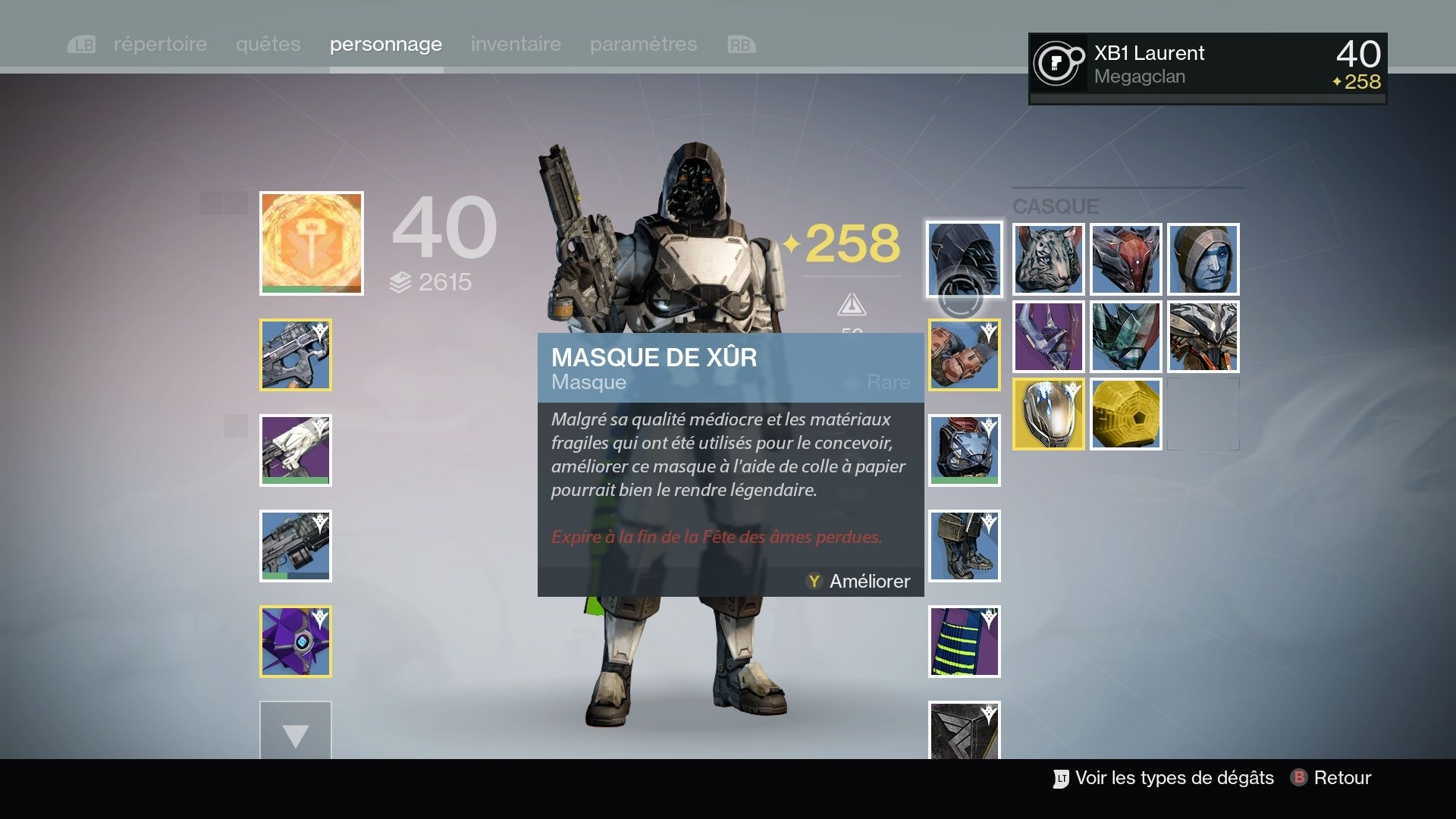 Destiny : Les masques ... Destin22
