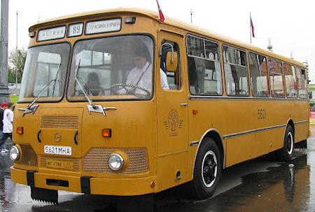 Célèbre bus russe Morusb10