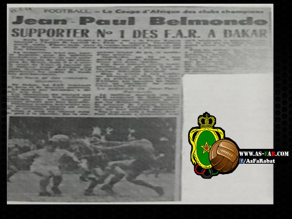 Historique des Matchs des Far dans les Coupes Africaines - Page 4 Belmon11