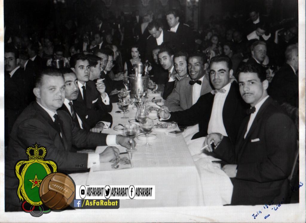 As Far Rabat en 1959 [ Tournée Européenne ] Documents exclu Lido110