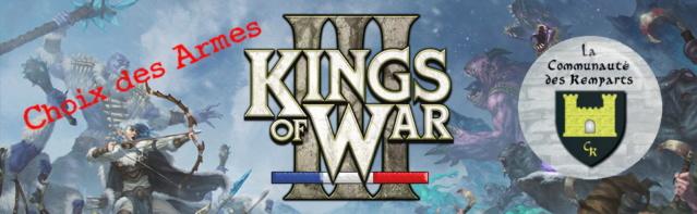 Choix des Armes : Kings of War Cda10