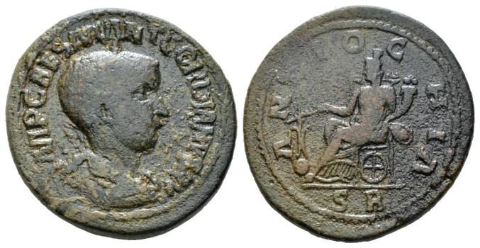 Antioche de Pisidie pour Gordien III UNIQUE Antioc10