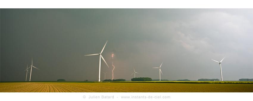 29 et 30 Avril 2011 : Orages 76/80/60 Foudre11
