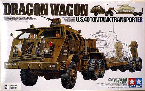 M26 DRAGON + 40 ton TANK TRANSPORTER M2610