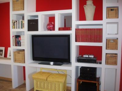 Un mur bibliothèque  Salon-10