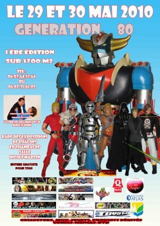 Salon Génération 80 - 29/05/10 - 1ère Edition -L'ALBUM PHOTO 12680211