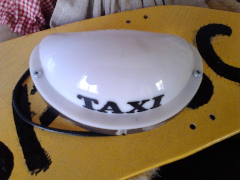 Vds Véritable coiffe de taxi Colombien (Acheté à Bogota) Img_2554