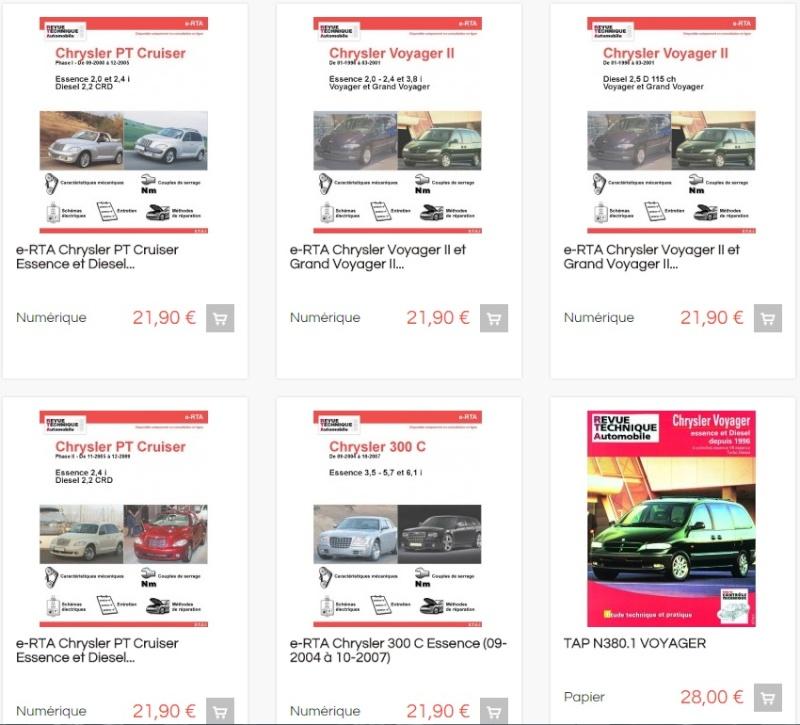 les e-RTA des Chrysler Voyager et des autres Chrysler Rta_et11