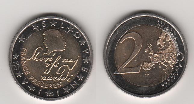 2 euros de Eslovenia, 2007 2euros10