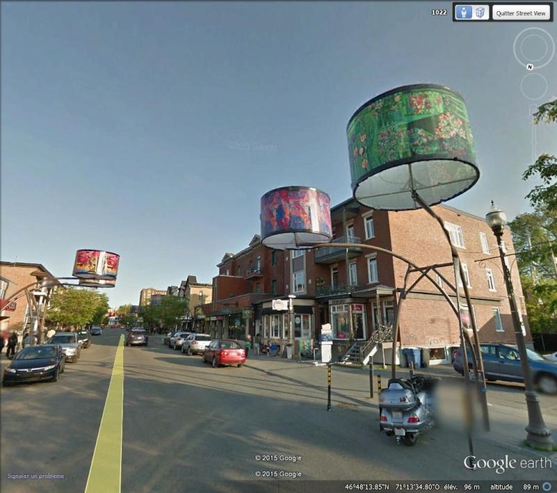 Street View : L'éclairge public dans le monde. Lumier10