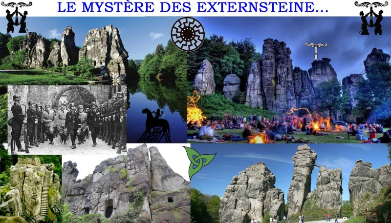 EXTERNSTEINE (6)... LA PLATEFORME, UN SOCLE ANCIEN... 10014410
