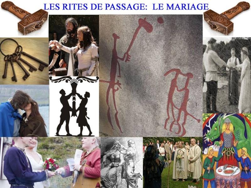 LES RITES DE PASSAGE: LE MARIAGE DANS LA TRADITION GERMANO-N 12366710